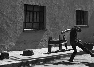 Muchacho preolímpico, México, 1970.