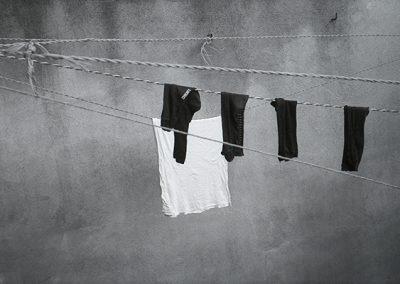 De la serie: En un pequeño espacio, Coyoacán, Ciudad de México, México, 1995