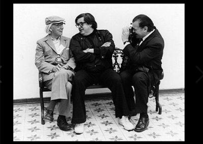 Con Juan José Gurrola y Héctor García. En 1er Coloquio Nacional de Fotografía, México, INBA-Consejo Mexicano de Fotografía, 1984.